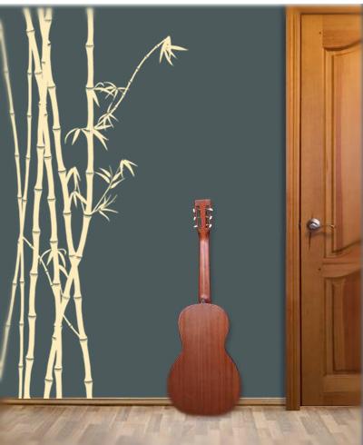 Bamboo Stencils Freeform Kit 2» Bamboo Wall Stencils » youstencil.com.au
