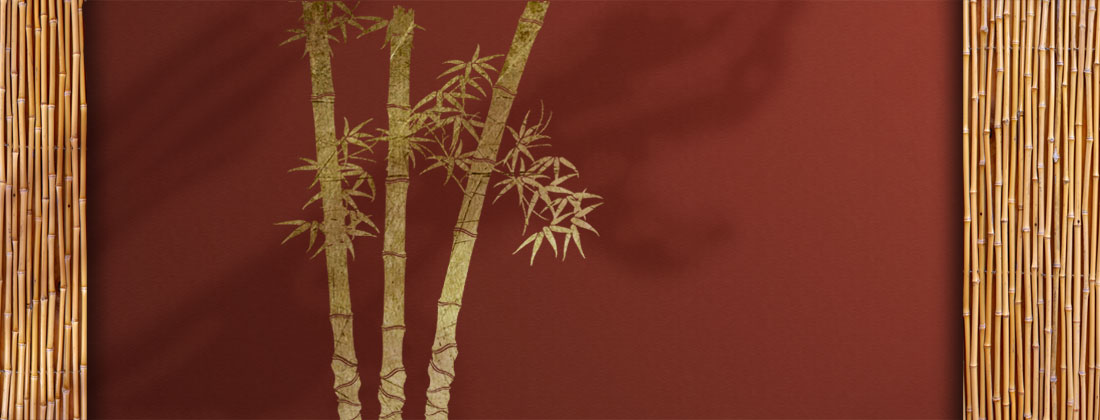 Wall Paint Bamboo Design : Bamboo stencil art concept ? youstencil