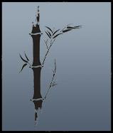 Bamboo motif 2