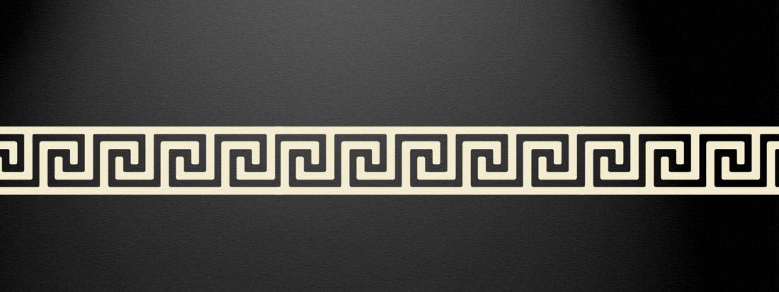 the gallery for gt greek wallpaper border
