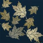Oak Leaves Stencil ST43