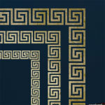 Greek Key Stencil ST51