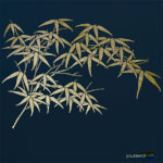 Large Bamboo Leaves Stencil ST75