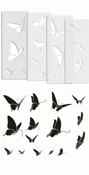 Butterfly Stencil templates