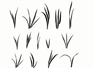 Grass templates