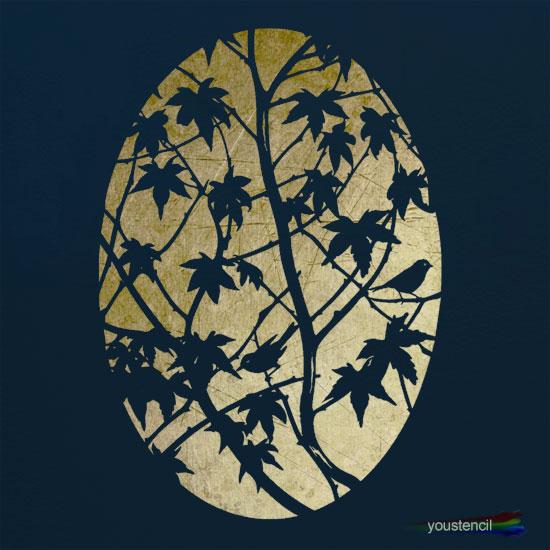Maple Tree Stencil: ST31