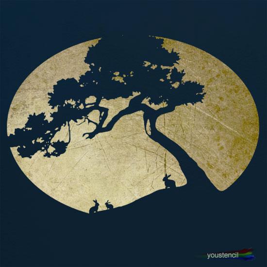 Tree Stencil #1 st65